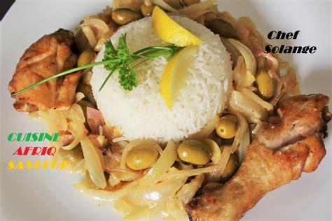 cuisine africaine facile poulet yassa cuisine africaine
