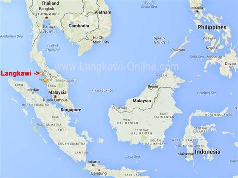 langkawi map langkawi  langkawi onlinecom