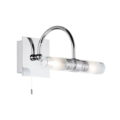 endon 447 bathroom wall light in chrome lighting from