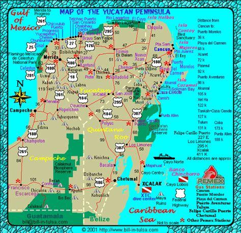 bill  tulsacom map   yucatan places
