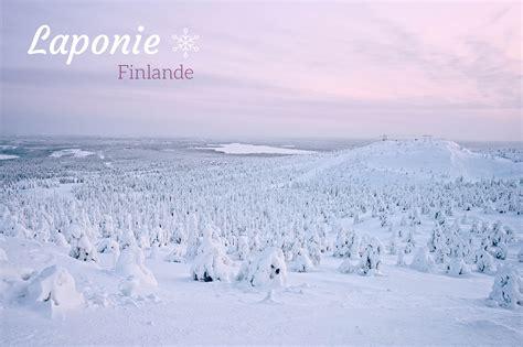 laponie voyage  ruka dans le nord de la finlande