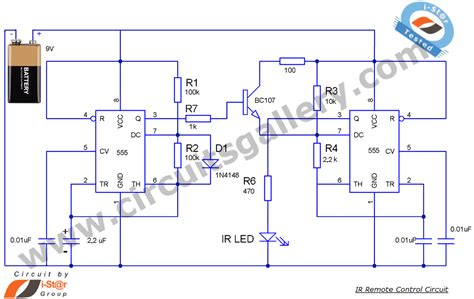 Transmitter Receiver Circuit For Best Remote