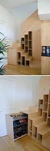 Unter Treppen Schrank : die besten 25 schrank unter der treppe ideen auf ~ Michelbontemps.com Haus und Dekorationen