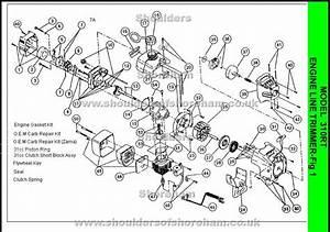 Stihl Fs55r Parts List Pdf  U2014 Kejomoro Fresh Ideas   Stihl Fs55r Parts Diagram