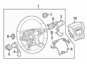 Chevrolet Silverado 2500 Hd Steering Wheel  W  Leather