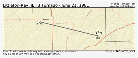 littleton ray il tornado june tornado talk