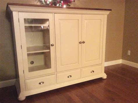 broyhill fontana armoire entertainment hutch diy midwest home renovation refinishing broyhill fontana