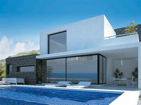 Moderne Häuser Spanien villen schweiz kaufen moderne konstruktion