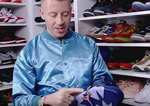 Macklemore Complex Closets Air Jordan 6 Samples ...