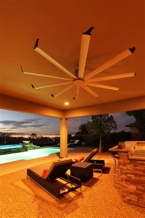 isis ceiling fan contemporary patio louisville