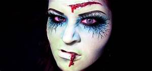 "How to Apply zombie or ""dead girl"" makeup for Halloween ..."