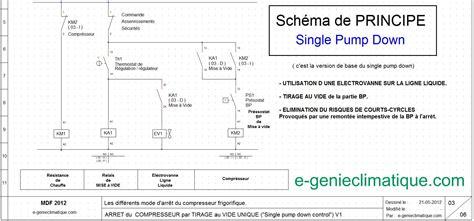chambre froide pdf froid13 schéma électrique arrêt compresseur single