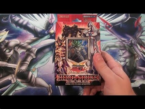 yugioh hero s strike structure deck ocg opening new e
