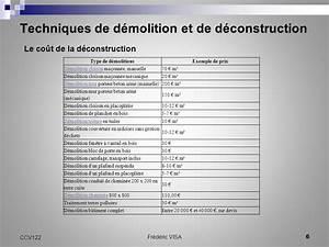 Cout Demolition Maison : ccv 122 techniques de d molition et de d construction ~ Melissatoandfro.com Idées de Décoration
