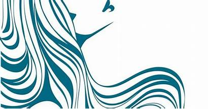 Flowing Hair Silhouette Clipart Silhouettes Drawing