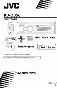 Jvc Kd Db56a Db56 User Manual Lvt2222 001a