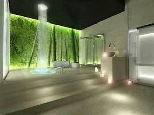 Amenagement salle de bain facon spa 20 idees for Salle de bain design avec décoration mariage antillais