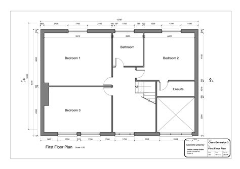 house layout drawing2 layout2 floor plan 2 danielleddesigns