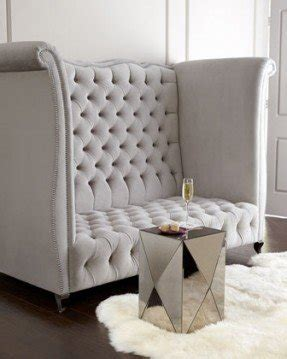 High Back Loveseat by High Back Tufted Sofa Foter