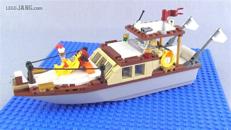 Lego City Boat by New Stuff For My Lego City Classic Boat Random Minfigs