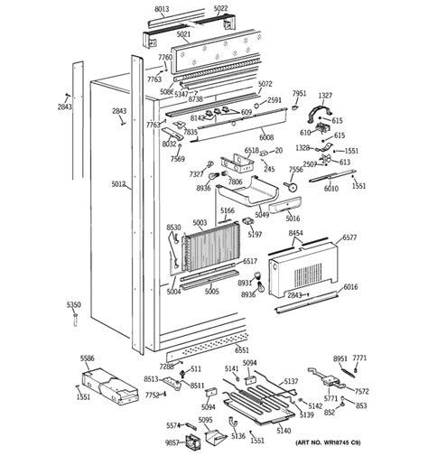 ge monogram refrigerator   freezer model
