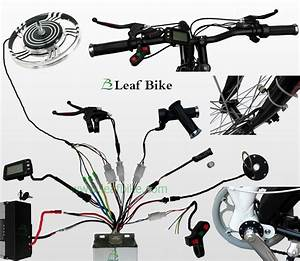 18 Inch 36v 750w Rear Hub Motor Electric Bike Conversion Kit