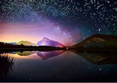 Starry Sky Night Wallpapers Cave