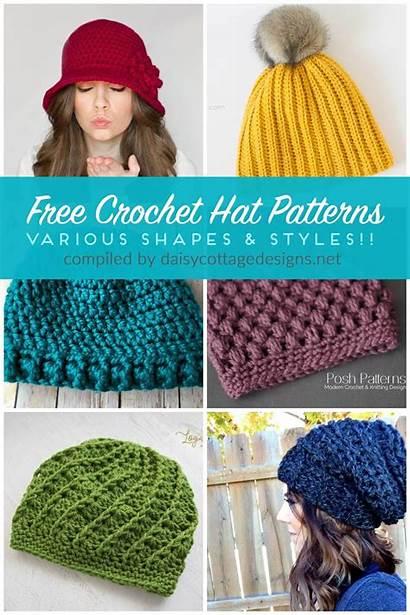 Crochet Hat Patterns Designs Modern Hats Slouchy