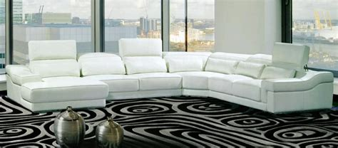hokku designs sectional 7 white curved sectionals for a modern living room