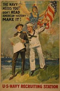 Examples of Propaganda from WW1 | The Navy needs you! Don ...