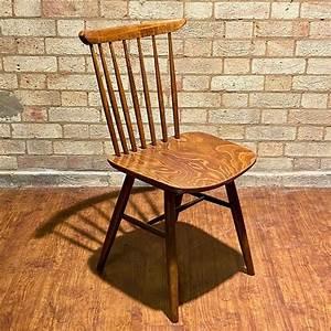 Drevounia, Of, Czechoslovakia, Vintage, Wooden, Chair, -, Antique, Chairs