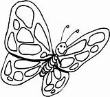 Butterfly Coloring Pages Pdf Butterflies Colouring Outline Sandbox Clipart Printable Clipartmag Advertisement Panda Designs Drawing sketch template
