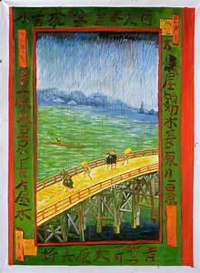 Japonaiserie: Bridge in the Rain (after Hiroshige ...