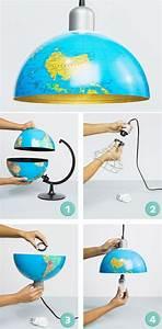 Globus Als Lampe : diy lampe aus globus ~ Markanthonyermac.com Haus und Dekorationen