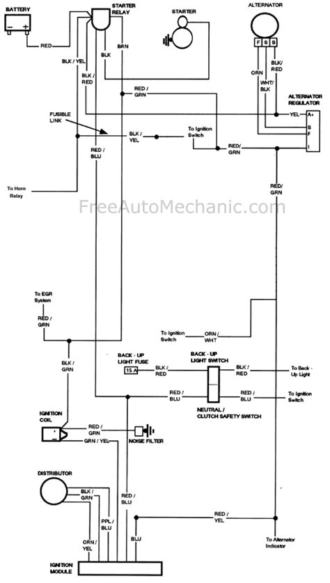 Ford With Spark Freeautomechanic Advice