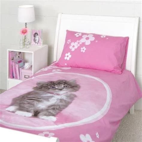 rachael hale  sweet kitten duvet single bed set