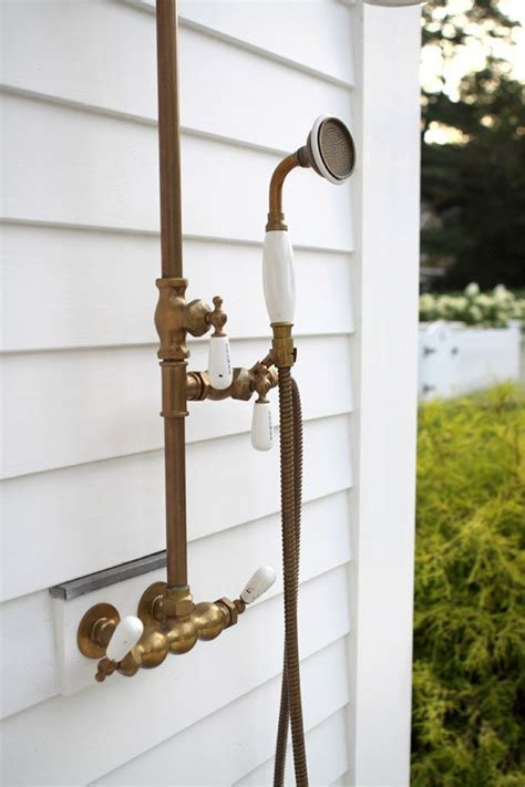 Outdoor Shower Fixtures Pictures To Pin On Pinterest