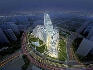 Zaha Hadid Bauwerke : chinese pirates are building a knock off version of zaha hadid 39 s new beijing complex business ~ Frokenaadalensverden.com Haus und Dekorationen