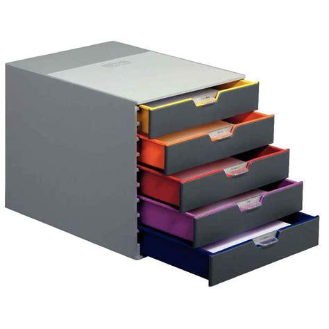 module de classement bureau module de 5 tiroirs classement varicolor durable vente