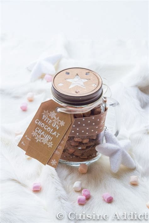 cuisine cadeau mix pour chocolat chaud cadeau gourmand cuisine addict