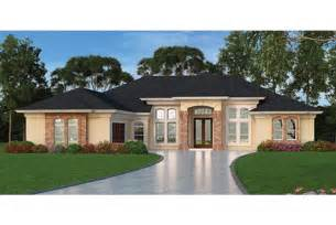 contemporary one house plans home plan homepw76954 2635 square 3 bedroom 3 bathroom mediterranean modern homes home