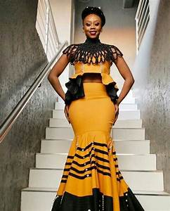 100 Xhosa Traditional Dresses Designs 2018 Shweshwe - Nails C