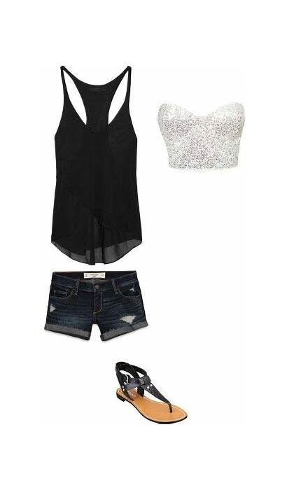 Outfits Summer Concert Outfit Night Casual Apparel