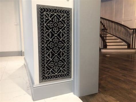 Decorative Grilles For Cabinet Doors Shelly Lighting