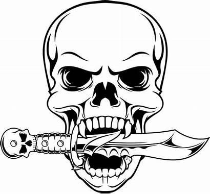 Skull Drawing Gangster Clipart Illustration Clipartmag