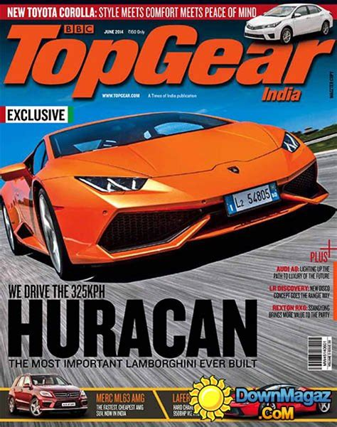 Bbc Top Gear India  June 2014 » Download Pdf Magazines