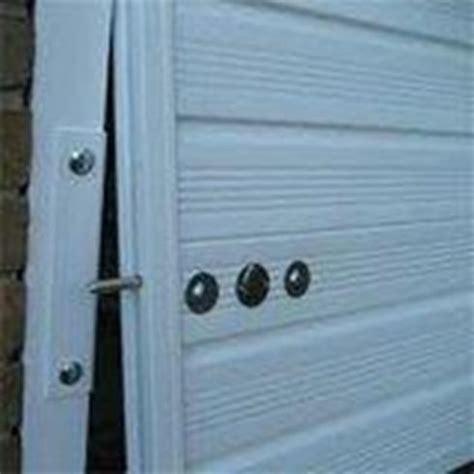 Securing Up And Garage Door by Security Accessories The Garage Door Company
