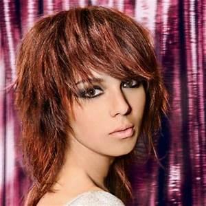 Coupe De Cheveux Femme Dégradé Mi Long : coupe de cheveux mi long femme visage ovale ~ Nature-et-papiers.com Idées de Décoration