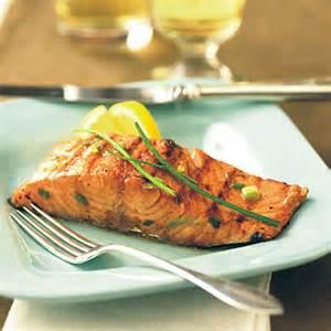 Orange Grilled Salmon Recipe