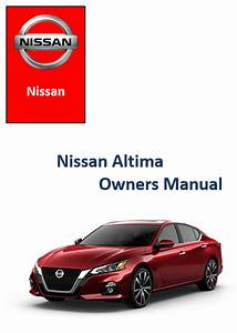 2020 Nissan Altima Owners Manual